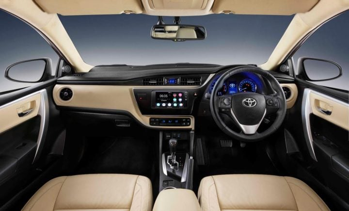 new toyota corolla altis 2017 interiors