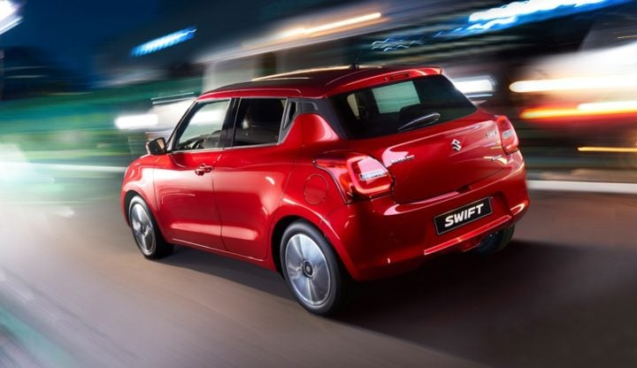 2018 maruti suzuki swift official images
