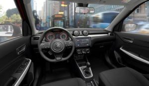 2018 maruti suzuki swift official images interiors