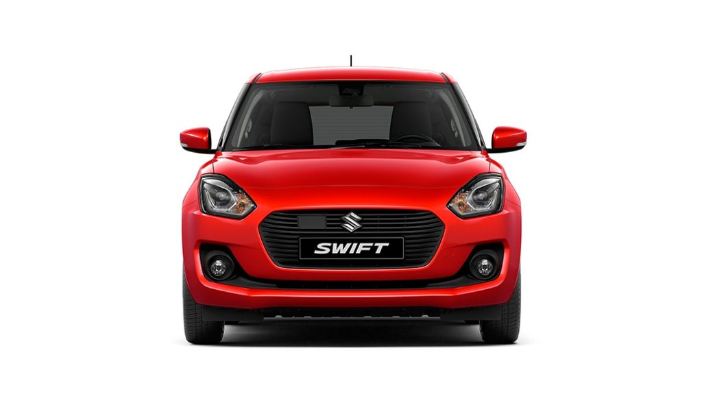 2018 Maruti Suzuki Swift Official Images Front Carblogindia