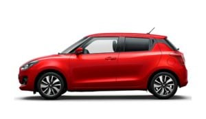 2018 maruti suzuki swift official images side