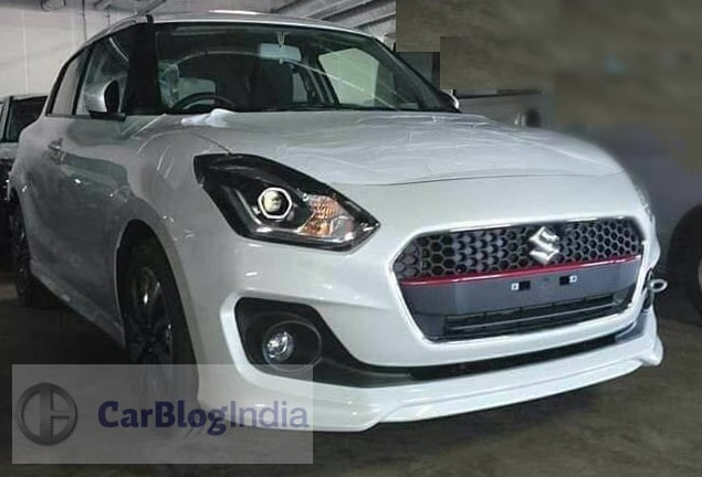 maruti cars at auto expo 2018 maruti swift rs