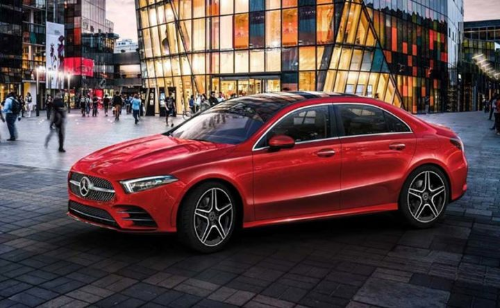 Upcoming A-Class Sedan