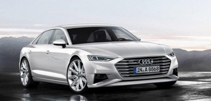 Upcoming Audi A8