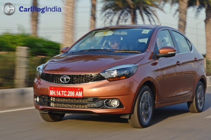 tata tigor test drive review images