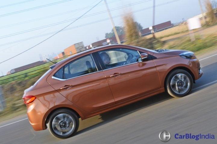 tata tigor test drive review images