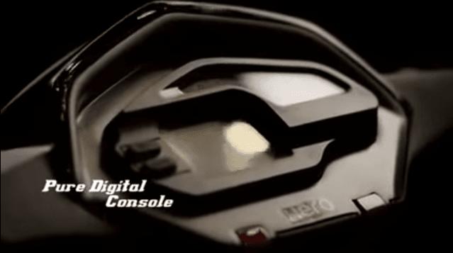Hero Dare 125 features speedo console images