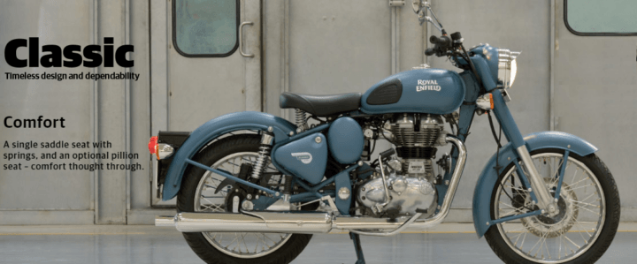 2017 Royal Enfield Classic 500 Images side view
