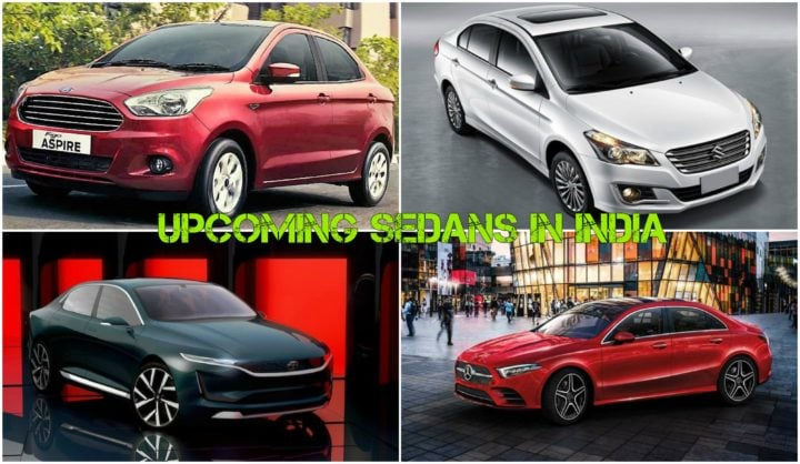 Upcoming Sedans In India