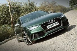 audi rs7 sportback performance review imgaes front angle design