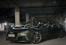 audi rs7 sportback performance review imgaes front angle opening shot
