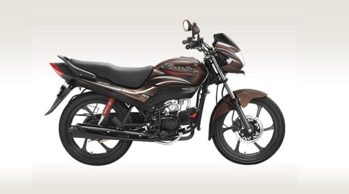 Best bikes Under Rs 60000 - hero passion pro side view images