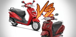 honda activa vs hero duet comparison