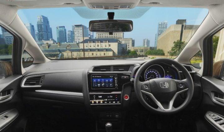 Tata Nexon vs Honda WRV - Honda WRV interior
