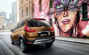 honda wrv official image rear