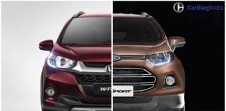 honda wrv vs ford ecosport comparison