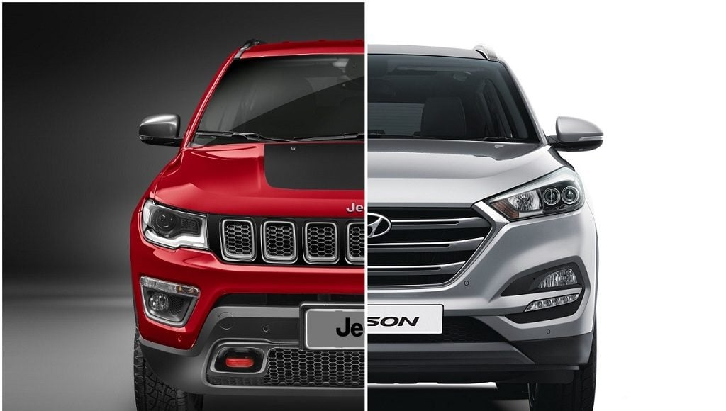 jeep compass vs Hyundai tucson