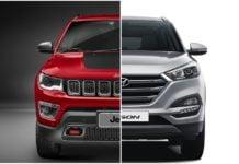 jeep compass vs Hyundai tucson