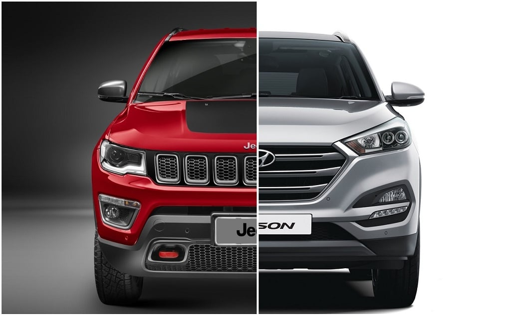 Jeep Compass Vs Hyundai Tucson Comparison Of Price