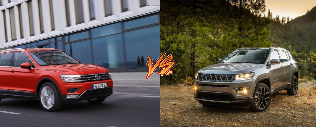 jeep compass vs volkswagen tiguan comparison images