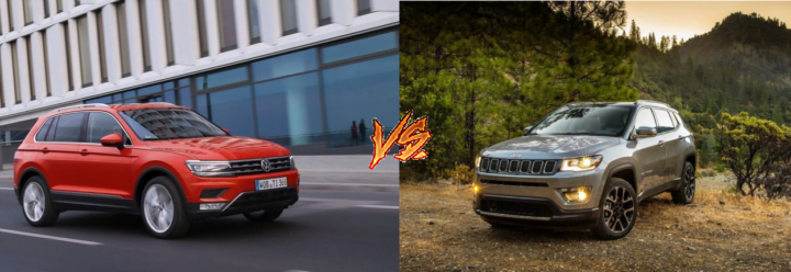 jeep compass vs volkswagen tiguan comparison images
