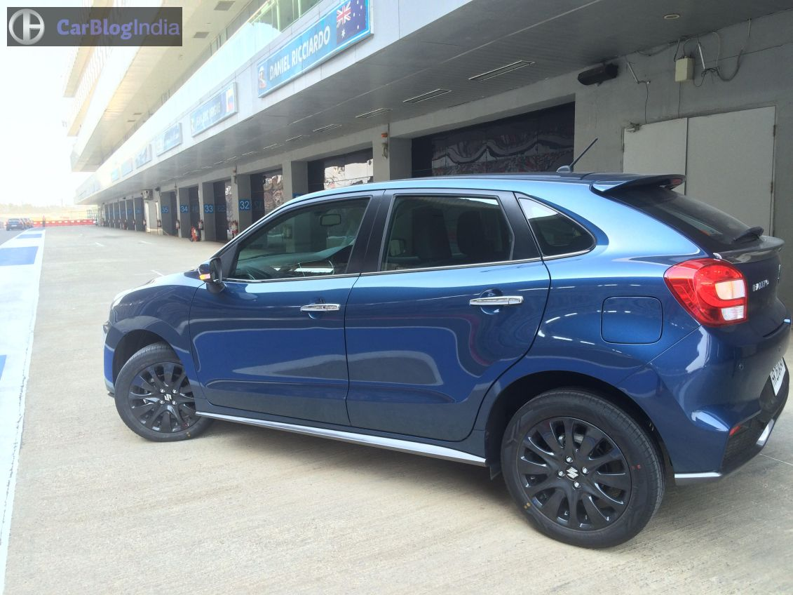 Maruti Baleno Rs Test Drive Review Top Speed 0 100 Kmph