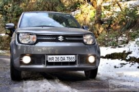 maruti ignis amt petrol review images