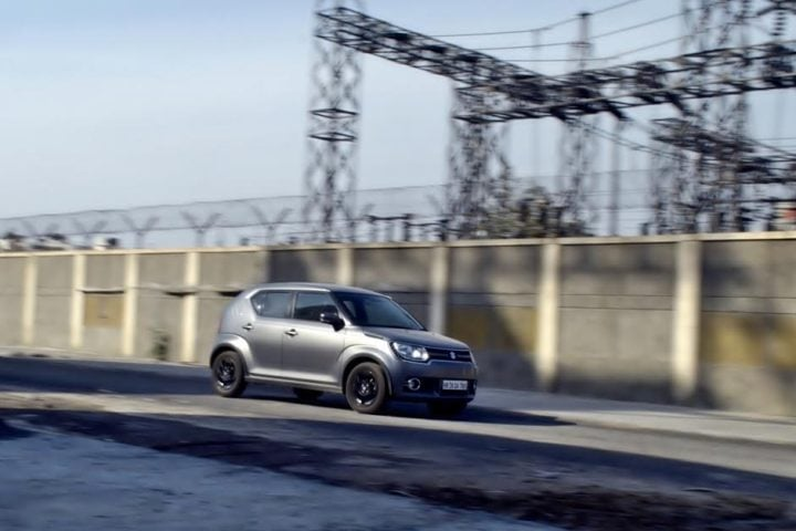 maruti ignis amt petrol review images front-angle-action