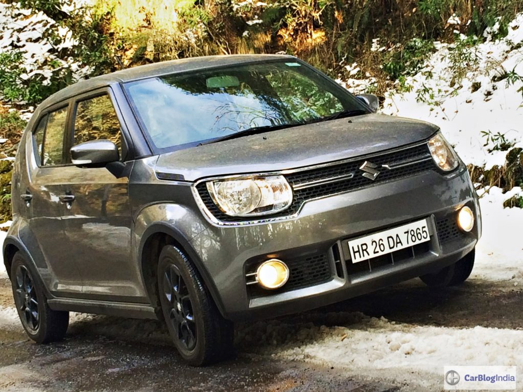 The Maruti Suzuki Ignis is due for a mid-life facelift next year