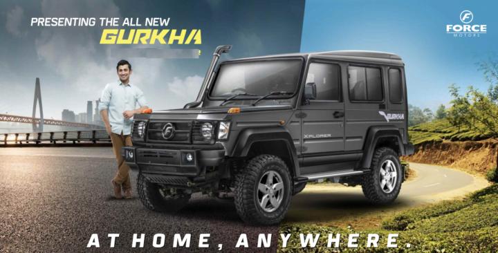 new 2017 force gurkha facelift