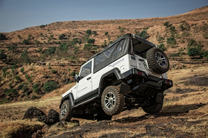 new 2017 force gurkha facelift xplorer images rear angle