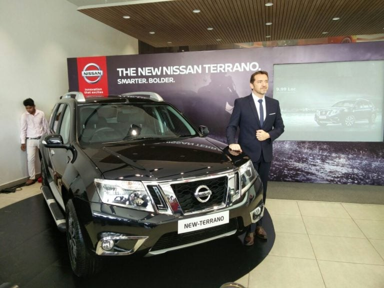 New 2017 Nissan Terrano Facelift Launched; Prices Start @ Rs 9.99 Lakh