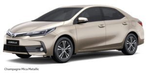 new toyota corolla altis 2017 colours champagne mica