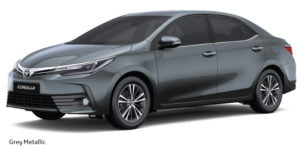 new toyota corolla altis 2017 colours grey