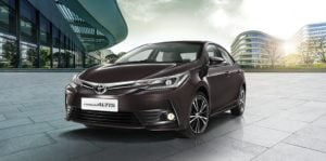 new toyota corolla altis 2017 official images