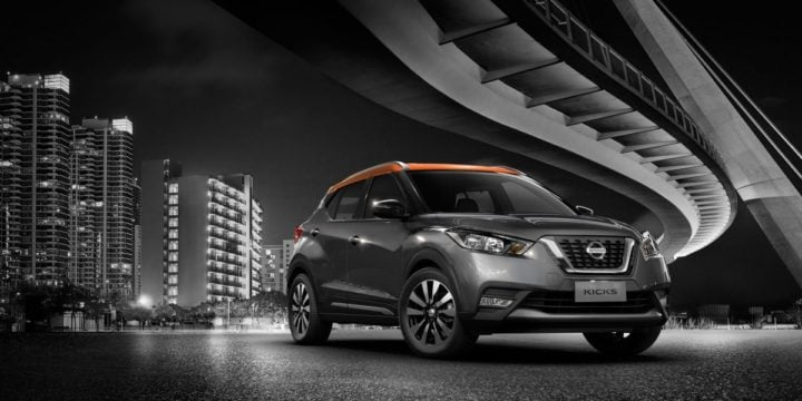 upcoming suv at auto expo 2018 - nissan kicks front angle