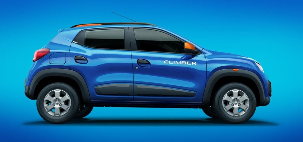 renault kwid climber official images side
