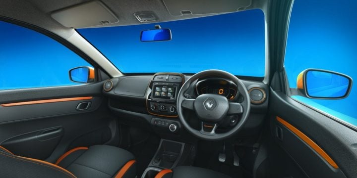 renault kwid climber official images interior
