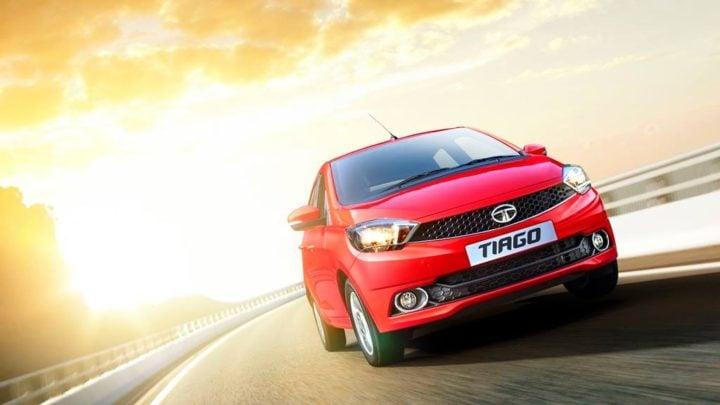 Best Mileage Automatic Cars - Tata Tiago Petrol AMT