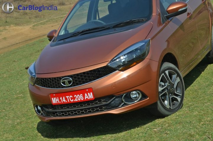 tata tigor review design nose