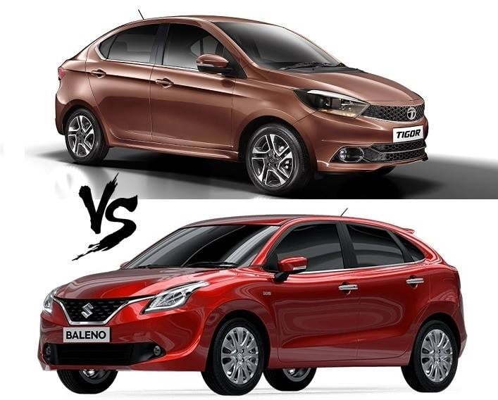 tata tigor vs maruti baleno comparison - CarBlogIndia