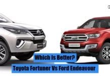 toyota fortuner vs ford endeavour (1) image