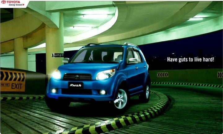 Upcoming Cars Under 15 Lakhs - Toyota Rush