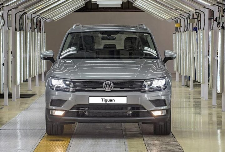 upcoming suvs in india 2017 volkswagen tiguan india launch