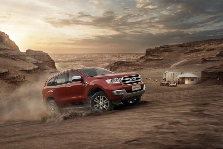 Best Automatic SUV in India - Ford Endeavour