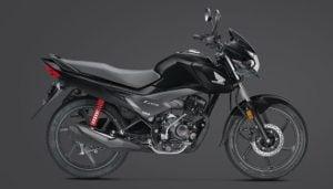 2017 Honda Livo BSIV images black