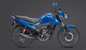 2017 Honda Livo BSIV images blue