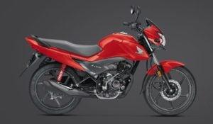 2017 Honda Livo BSIV images red