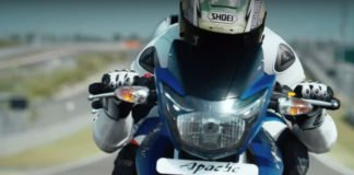 2017 TVS Apache RTR 180 Images