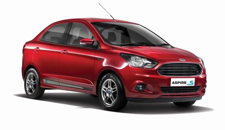 Ford Aspire S Launched @ Rs 6.51 Lakh